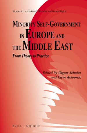 Cover Minority Self-Government in Europe and the Middle East