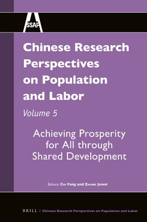 Cover Chinese Research Perspectives on Population and Labor, Volume 5