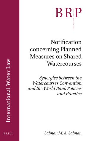 Cover Notification concerning Planned Measures on Shared Watercourses
