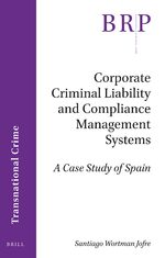 Cover Corporate Criminal Liability and Compliance Management Systems