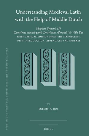 Cover Understanding Medieval Latin with the Help of Middle Dutch