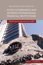 Cover Good Governance and Modern International Financial Institutions