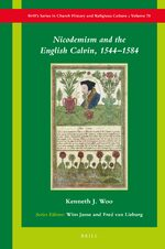 Cover Nicodemism and the English Calvin, 1544–1584