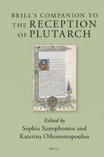Cover Brill's Companion to the Reception of Plutarch