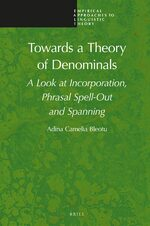 Cover Towards a Theory of Denominals