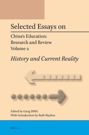Cover Selected Essays on China's Education: Research and Review, Volume 2