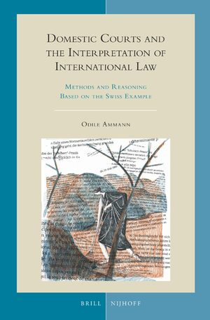 Cover Domestic Courts and the Interpretation of International Law