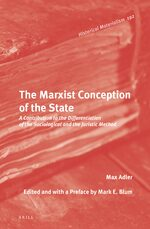 Cover The Marxist Conception of the State