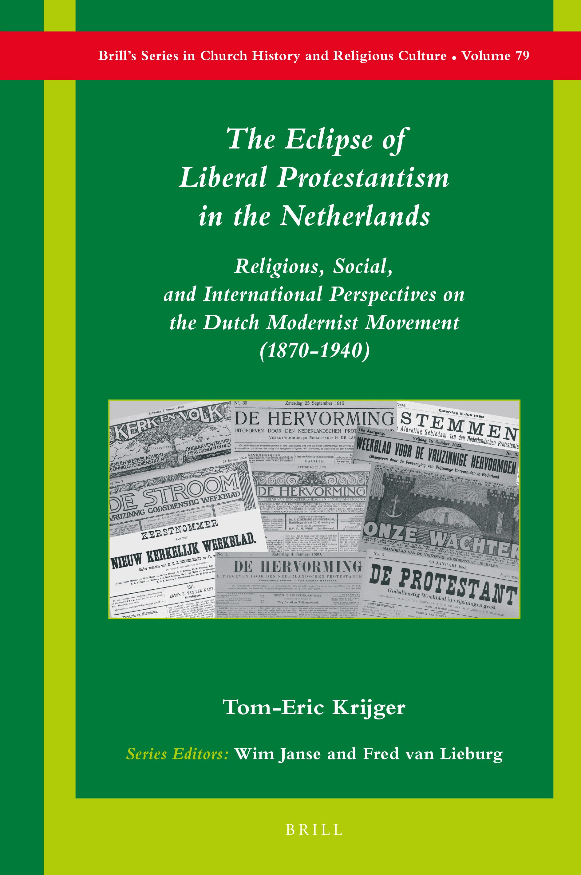 Becoming A Pillaret In The Eclipse Of Liberal Protestantism