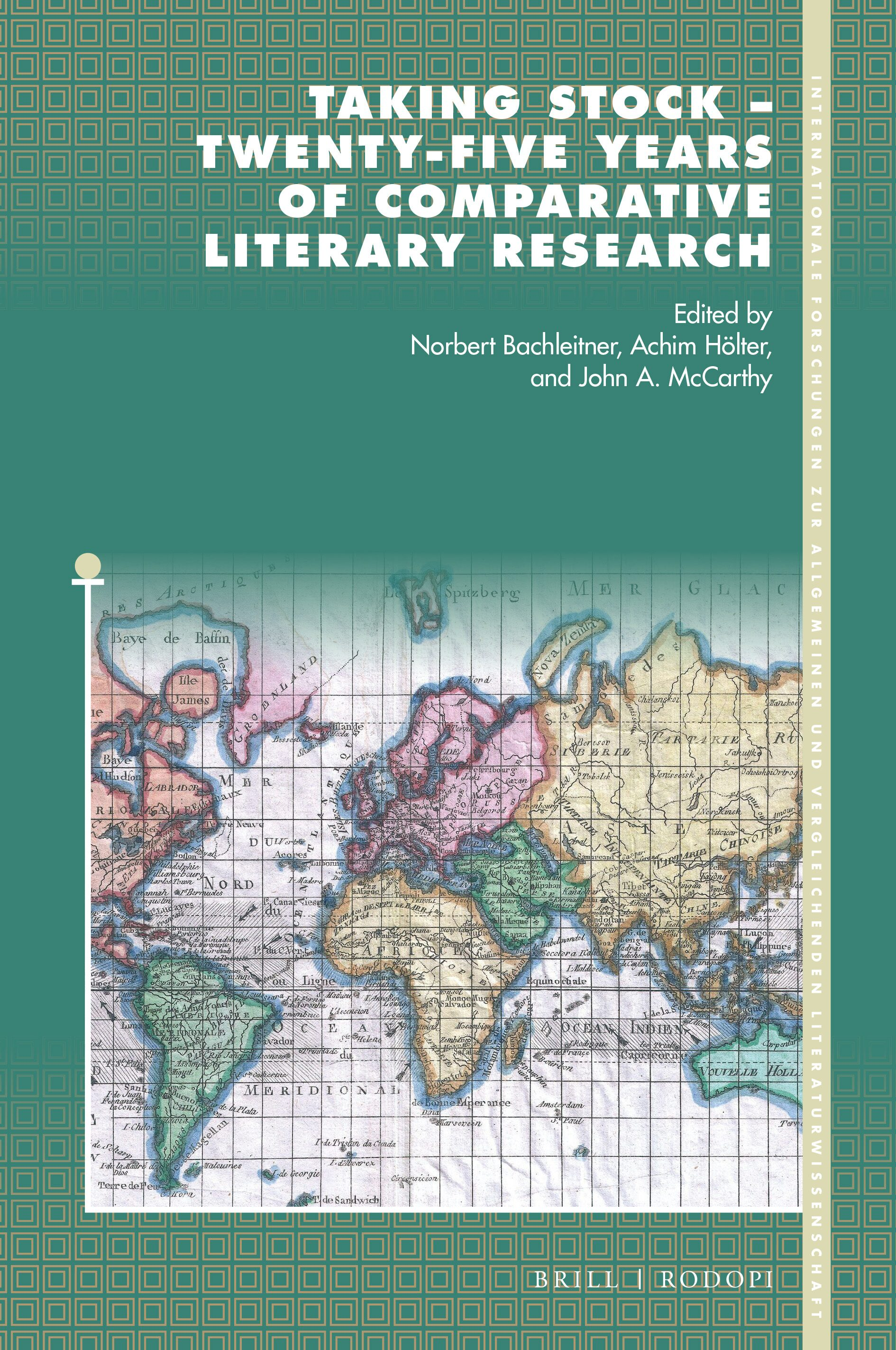 Comparative Literature Being At Home In The World In