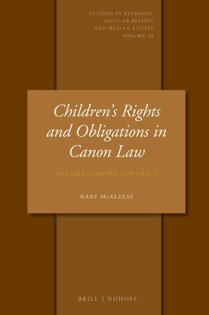Cover Children's Rights and Obligations in Canon Law