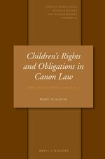 Cover Childrens' Rights and Obligations in Canon Law