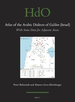 Cover Atlas of the Arabic Dialects of Galilee (Israel)