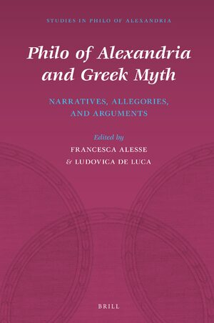Cover Philo of Alexandria and Greek Myth