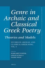 Cover Genre in Archaic and Classical Greek Poetry: Theories and Models