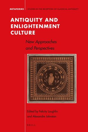Cover Antiquity and Enlightenment Culture
