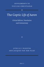Cover The Coptic <i>Life of Aaron</I>