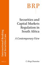 Cover Securities and Capital Markets Regulation in South Africa