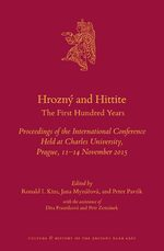 Cover Hrozný and Hittite