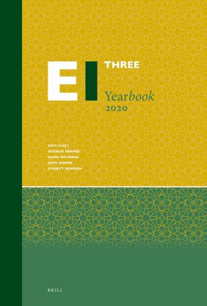 Cover Encyclopaedia of Islam Three Yearbook 2020