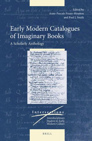 Cover Early Modern Catalogues of Imaginary Books
