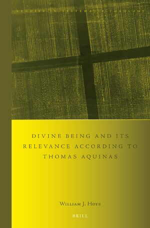 Cover Divine being and its relevance according to Thomas Aquinas