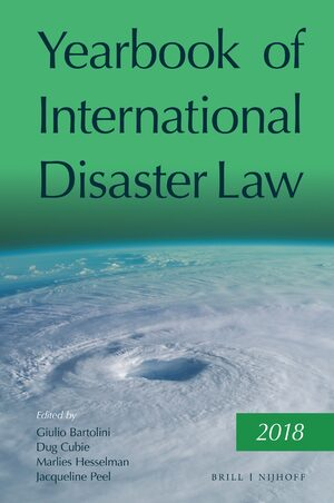 Cover Yearbook of International Disaster Law