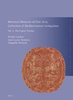 Cover Montreal Museum of Fine Arts, Collection of Mediterranean Antiquities, Vol. 4: The Coptic Textiles