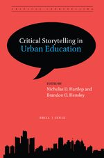Cover Critical Storytelling in Urban Education