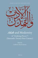 Cover Adab and Modernity