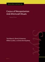 Cover Corpus of Mesopotamian Anti-Witchcraft Rituals
