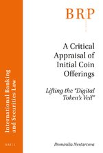 Cover A Critical Appraisal of Initial Coin Offerings