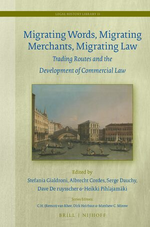 Cover Migrating Words, Migrating Merchants, Migrating Law