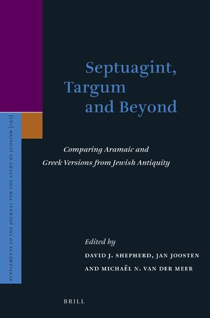 Cover Septuagint, Targum and Beyond