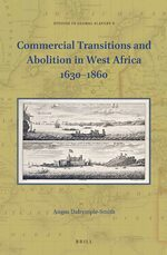 Cover Commercial Transitions and Abolition in West Africa 1630–1860