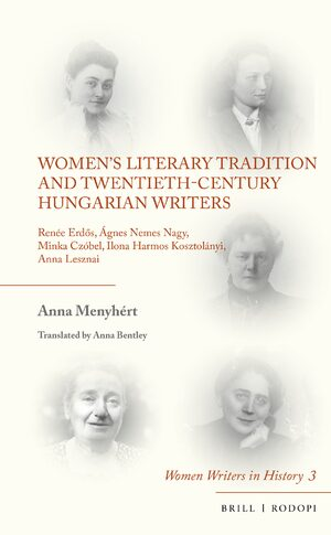Cover Women's Literary Tradition and Twentieth-Century Hungarian Writers
