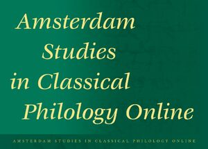 Cover Amsterdam Studies in Classical Philology Online