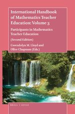 Cover International Handbook of Mathematics Teacher Education: Volume 3