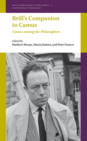Cover Brill's Companion to Camus