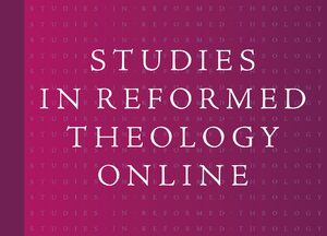 Cover Studies in Reformed Theology Online