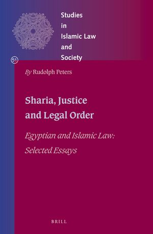 Cover Sharia, Justice and Legal Order