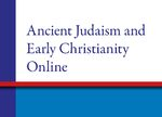 Cover Ancient Judaism & Early Christianity Online, Supplement 2020