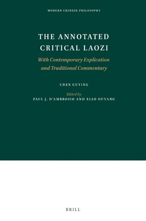 Cover The Annotated Critical Laozi