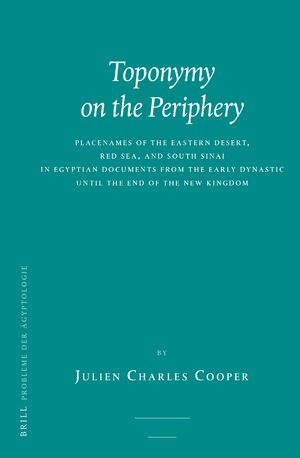 Cover Toponymy on the Periphery