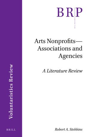 Cover Arts Nonprofits--Associations and Agencies