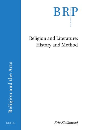 Cover Religion and Literature: History and Method