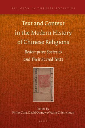 Cover Text and Context in the Modern History of Chinese Religions