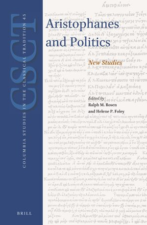 Cover Aristophanes and Politics