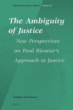 Cover The Ambiguity of Justice: New Perspectives on Paul Ricoeur's Approach to Justice