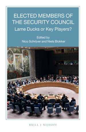 Cover Elected Members of the Security Council: Lame Ducks or Key Players?